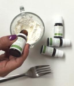 shampoo en seco con aceites esenciales
