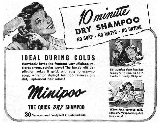 shampoo en seco