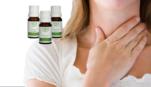 Masajea Aceites Esenciales con vapores descongestionantes para Gripa