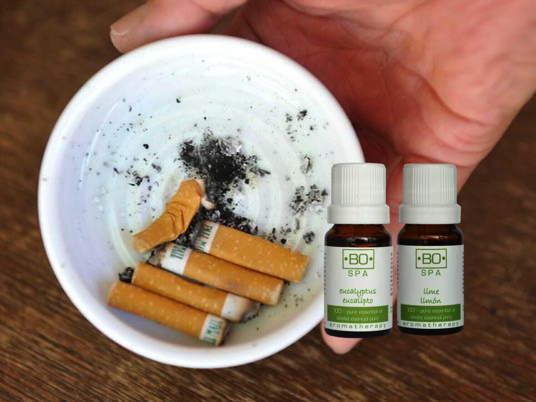 Elimina el olor a cigarro con Aceites Esenciales Bo Spa – Bo Spa