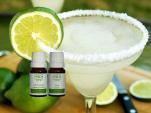 Margaritas Vírgenes con Aceite Esencial de Limón y Naranja